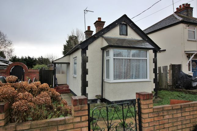 Thumbnail Detached bungalow for sale in Meadow Road, Benfleet