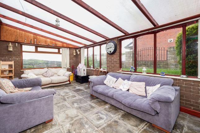 Conservatory of John Street, Higher Heyrod, Stalybridge, Greater Manchester SK15