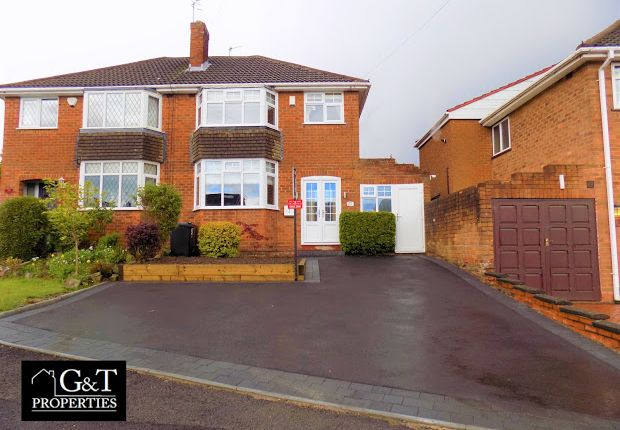 Thumbnail Semi-detached house for sale in Wallows Wood, The Straits, Gornal