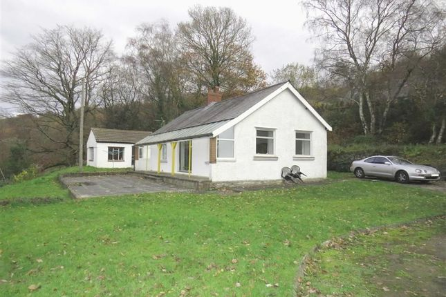 Thumbnail Detached bungalow for sale in Heather View Road, Pontypridd