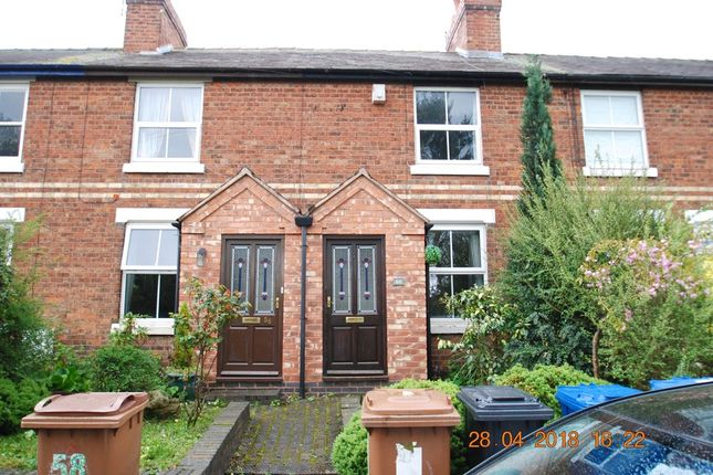 2 bed terraced house to rent in Chesterfield Road, Lichfield