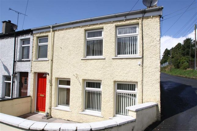 Thumbnail End terrace house for sale in Church Lane, Ballynahinch, Down