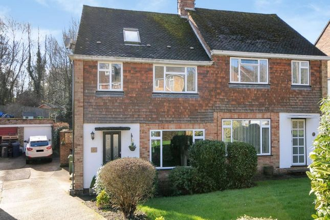 Thumbnail Semi-detached house for sale in Marys Mead, Hazlemere, High Wycombe