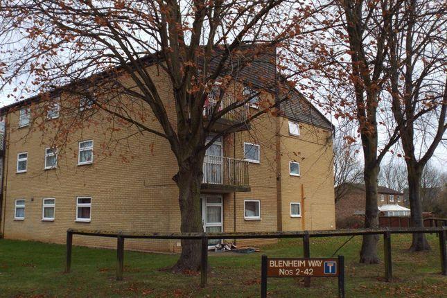 Thumbnail Flat to rent in Blenheim Way, Stevenage