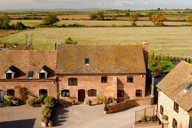 Thumbnail Barn conversion for sale in Poplars Farm, Bricklehampton, Pershore, Worcestershire
