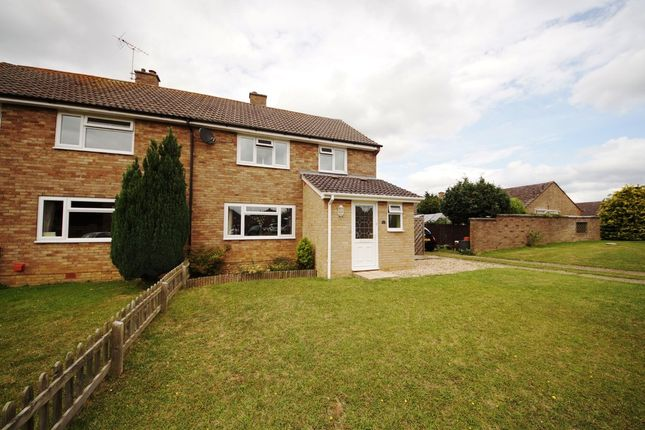 Thumbnail Semi-detached house for sale in Castle Rise, North Warnborough, Hook