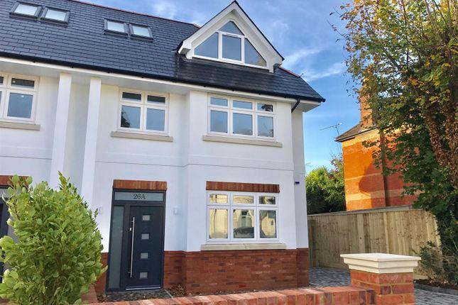 Thumbnail Semi-detached house for sale in Sandringham Road, Parkstone, Poole
