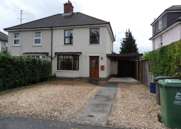Thumbnail Semi-detached house to rent in Glebe Road Off Hills Road, Cambridge