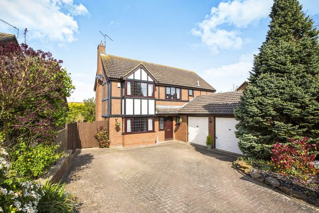Thumbnail Detached house for sale in Mountbatten Drive, Ringstead, Kettering
