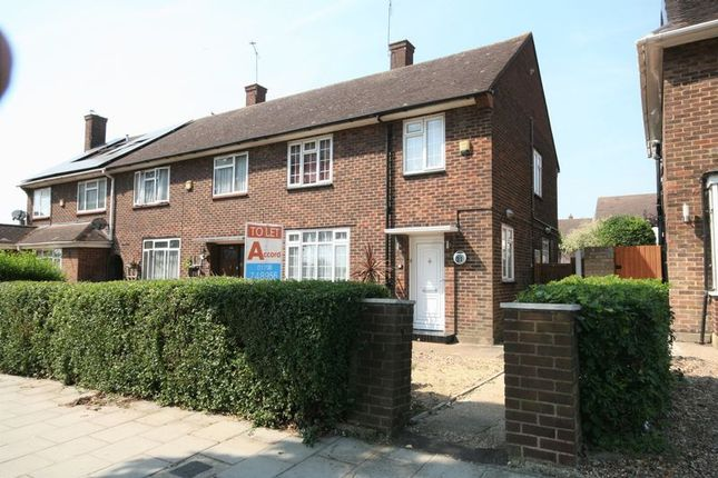 Thumbnail Terraced house to rent in Gooshays Drive, Romford
