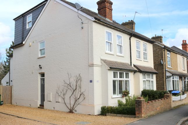 Thumbnail Semi-detached house for sale in Station Road, West Byfleet, Surrey