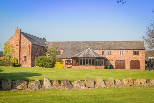 Thumbnail Barn conversion for sale in Borras Road, Borras, Wrexham