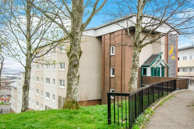 Thumbnail Flat for sale in Hartlaw Crescent, Hillington, Glasgow