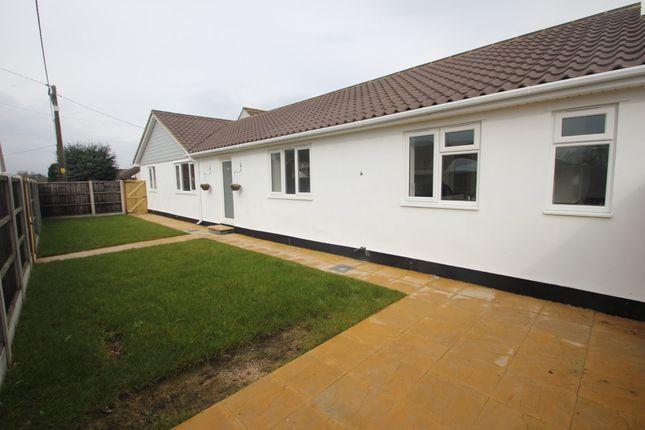 Thumbnail Semi-detached bungalow for sale in Princess Gardens, Ashingdon, Rochford