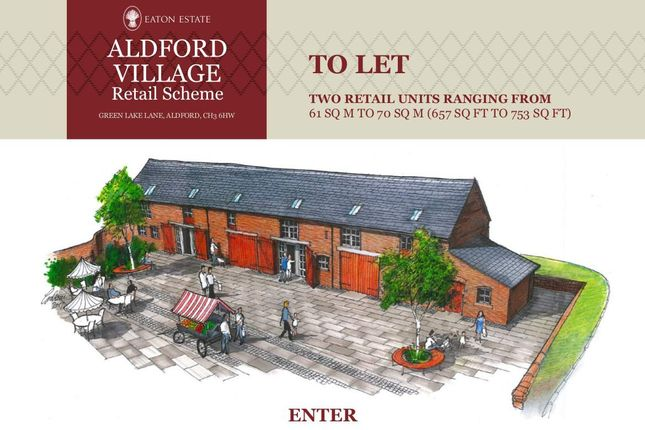 Thumbnail Retail premises to let in Unit 1 Aldford Village Retail Scheme, Green Lake Lane, Aldford