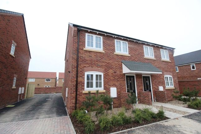 Thumbnail Semi-detached house for sale in Beacon Drive, Eastfield, Scarborough