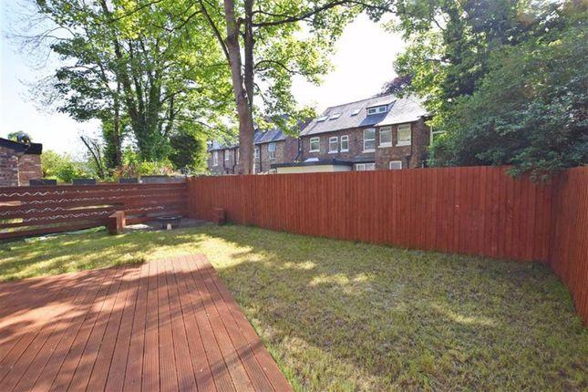 Rear Garden of Northen Grove, West Didsbury, Didsbury, Manchester M20