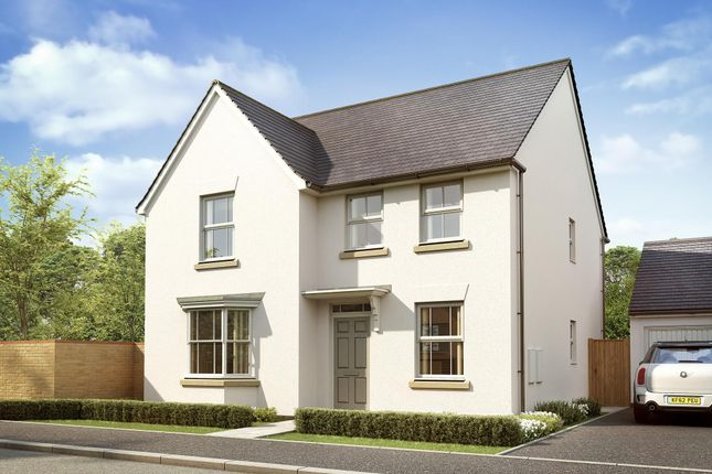 "Thumbnail Detached house for sale in ""Holden"" at West Yelland, Barnstaple"