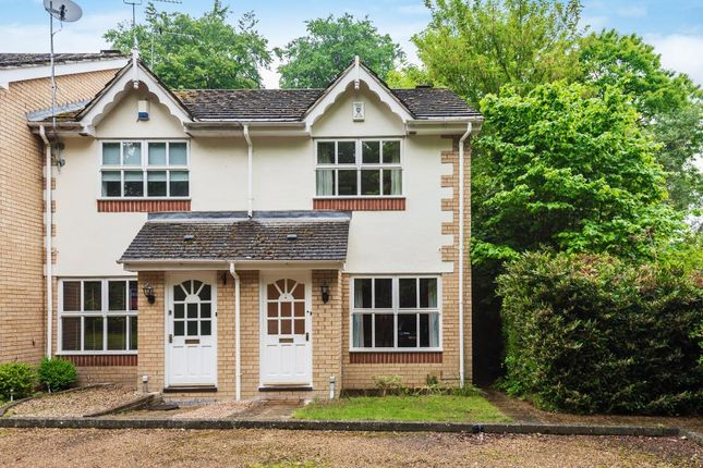 Thumbnail End terrace house for sale in Alexandra Gardens, Woking