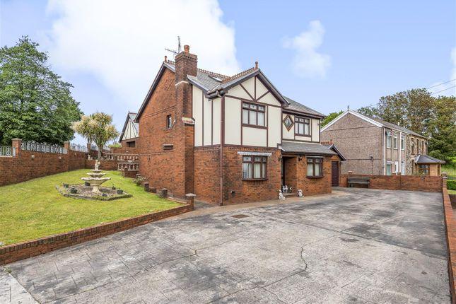 Thumbnail Detached house for sale in Cefn Road, Bonymaen, Swansea