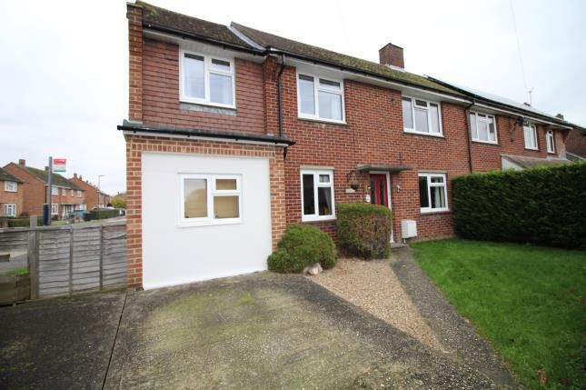 Thumbnail Semi-detached house for sale in Oliver Whitby Road, Chichester, West Sussex