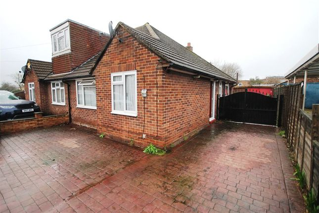 Thumbnail Semi-detached bungalow for sale in Clare Road, Staines-Upon-Thames, Surrey