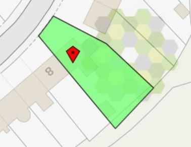 Boundary Plan of Hafod Elfed, Carmarthen SA31