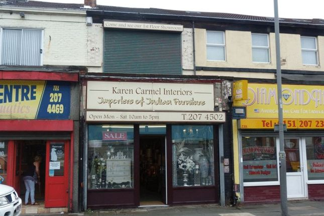 Thumbnail Retail premises for sale in Walton Road, Kirkdale, Liverpool