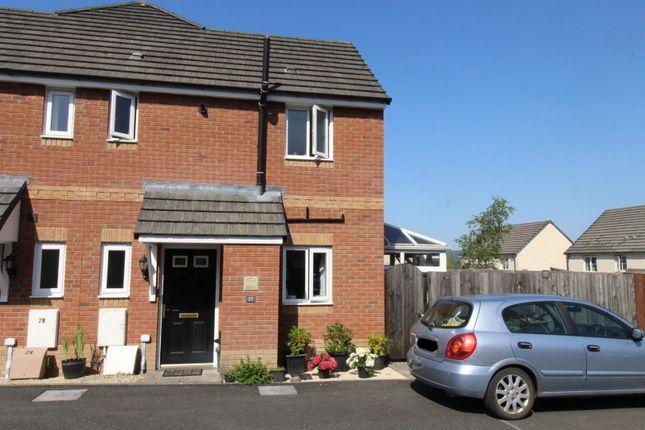 Thumbnail Semi-detached house for sale in Ffordd Y Glowyr, Betws, Ammanford