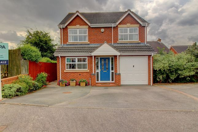 Thumbnail Detached house for sale in Harby Close, Marston Green, Birmingham