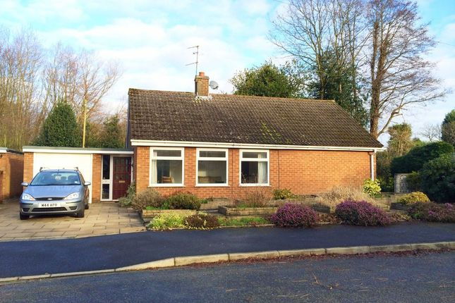 Thumbnail Detached bungalow to rent in Burford Close, Wilmslow