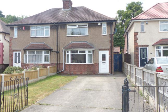 Thumbnail Semi-detached house to rent in Edge Hill Grove, Mansfield Woodhouse, Nottinghamshire
