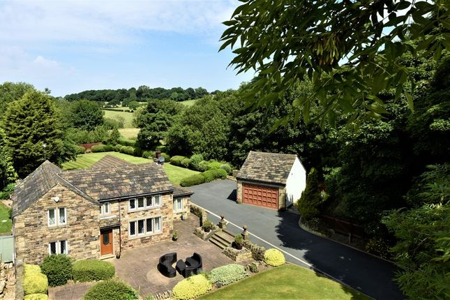 Thumbnail Detached house for sale in Woodend Cottages, Woodend Road, Mirfield
