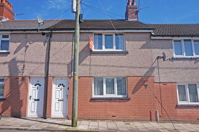 Thumbnail Terraced house for sale in Powell Street, Tir-Y-Berth