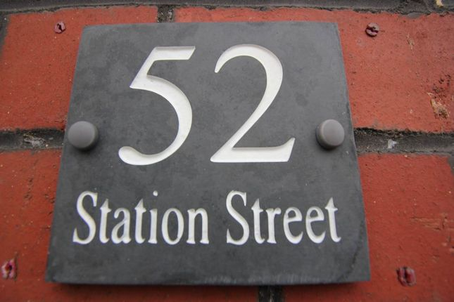 Number Plate of Station Street, Barry, Vale Of Glamorgan CF63