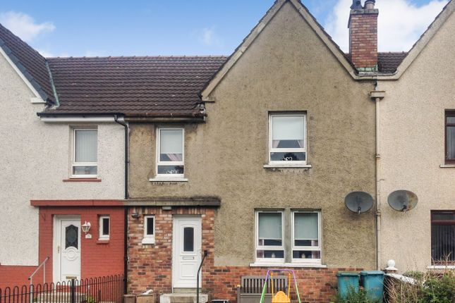 Thumbnail Terraced house for sale in Craigneuk Avenue, Airdrie, North Lanarkshire