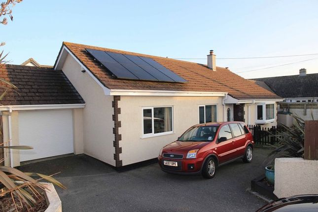 Thumbnail Detached bungalow for sale in South Way, Quintrell Downs, Newquay