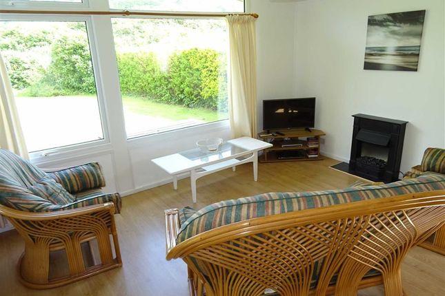 L-Shaped Lounge: of Chalet, 61, Erw Porthor, Tywyn, Gwynedd LL36