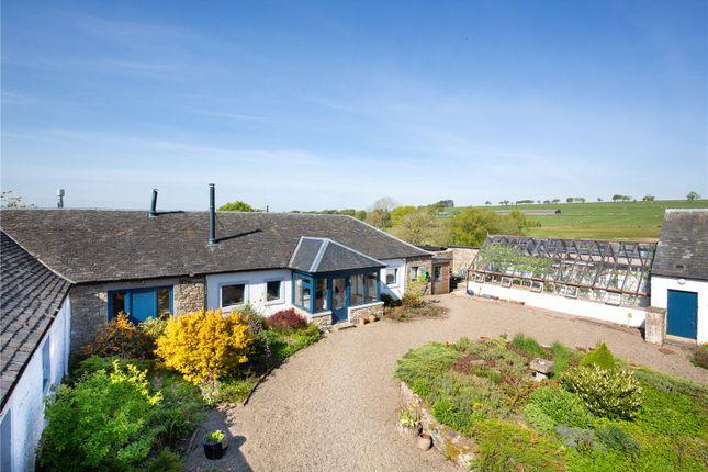 Thumbnail Semi-detached bungalow for sale in Macbiehill Farmhouse, West Linton, Peeblesshire