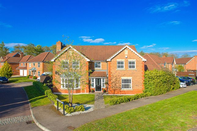 Thumbnail Detached house for sale in Longfellow Drive, Kettering