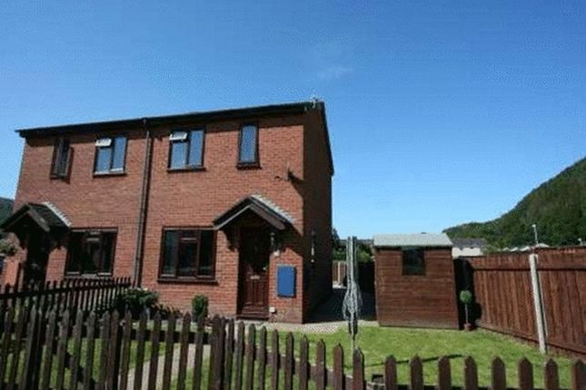 Thumbnail Semi-detached house to rent in Craigfryn, Machynlleth