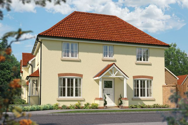 "Thumbnail Detached house for sale in ""The Spruce"" at Priory Fields, Wookey Hole Road, Wells, Somerset, Wells"