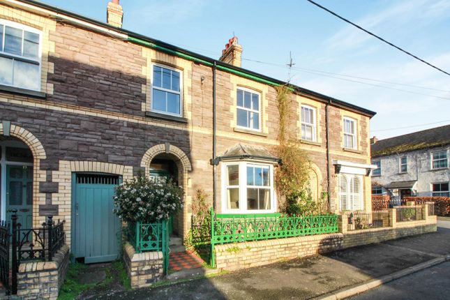 Thumbnail Terraced house for sale in Oxford Street, Abergavenny