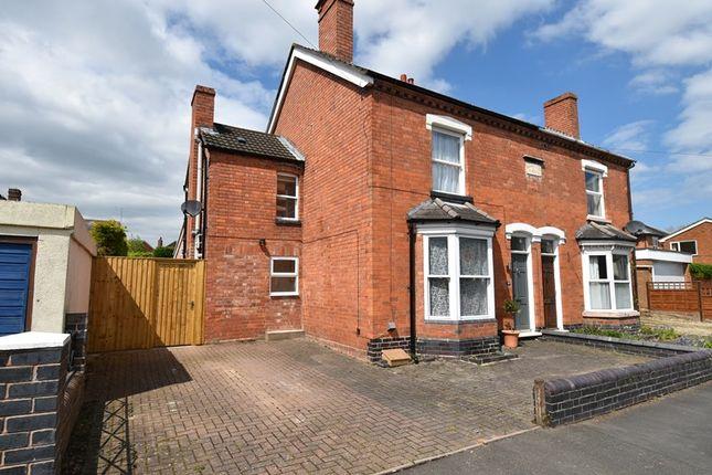 Thumbnail Semi-detached house for sale in Corbett Avenue, Droitwich