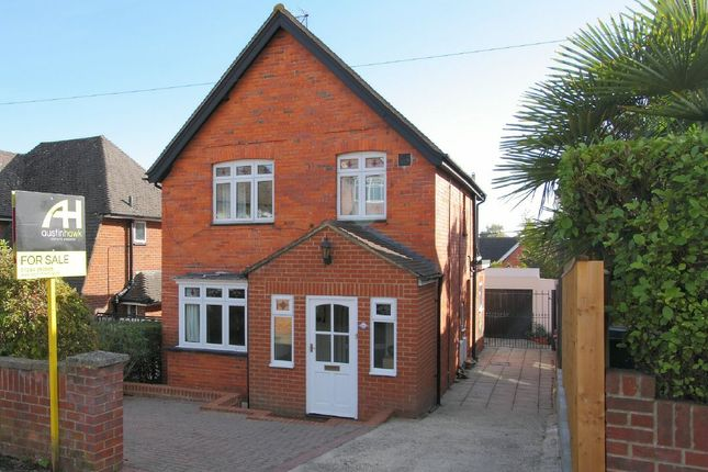 Thumbnail Detached house for sale in Hillbury Avenue, Andover