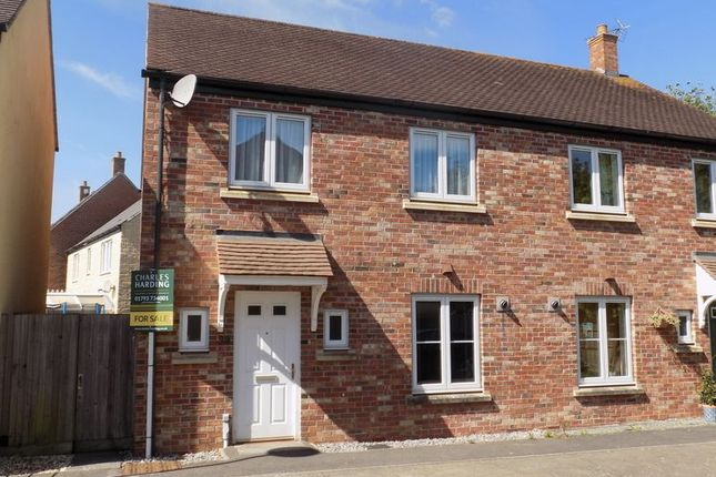 3 bed semi-detached house for sale in Twineham Road, Blunsdon, Swindon
