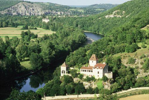 Thumbnail Château for sale in In Small Hamlet, Gourdon, Lot, Midi-Pyrénées, France