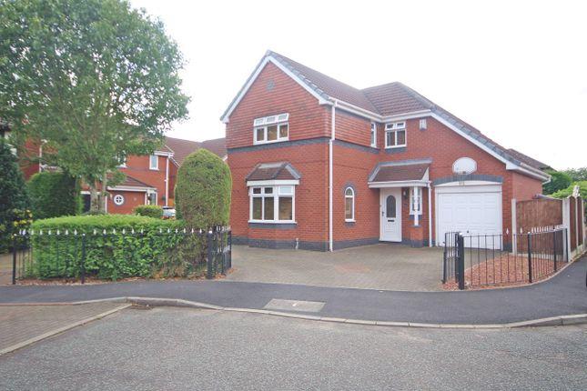 Thumbnail Detached house for sale in Edgars Drive, Fearnhead, Warrington