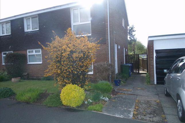 Thumbnail Flat to rent in Poole Close, Cramlington