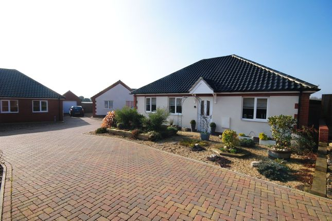 Thumbnail Detached bungalow for sale in Glebe Drive, Roydon, Diss